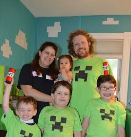 Andrew chose Minecraft for the theme of his party this year. I had a vague idea of what the game was because he usually plays with his br...