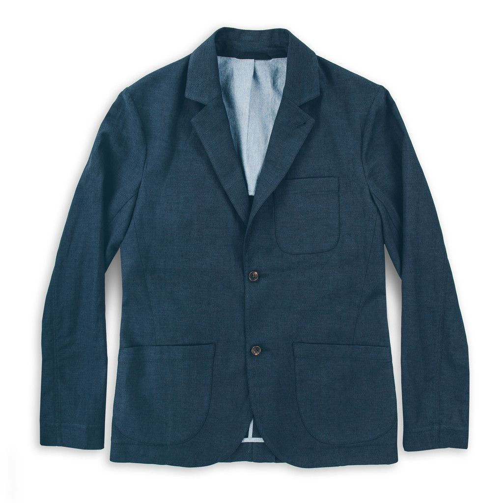 The Telegraph Jacket in Navy: Featured Product Image