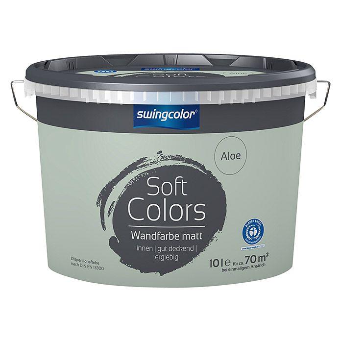 swingcolor Soft Colors Wandfarbe Wandfarbe, Farben und