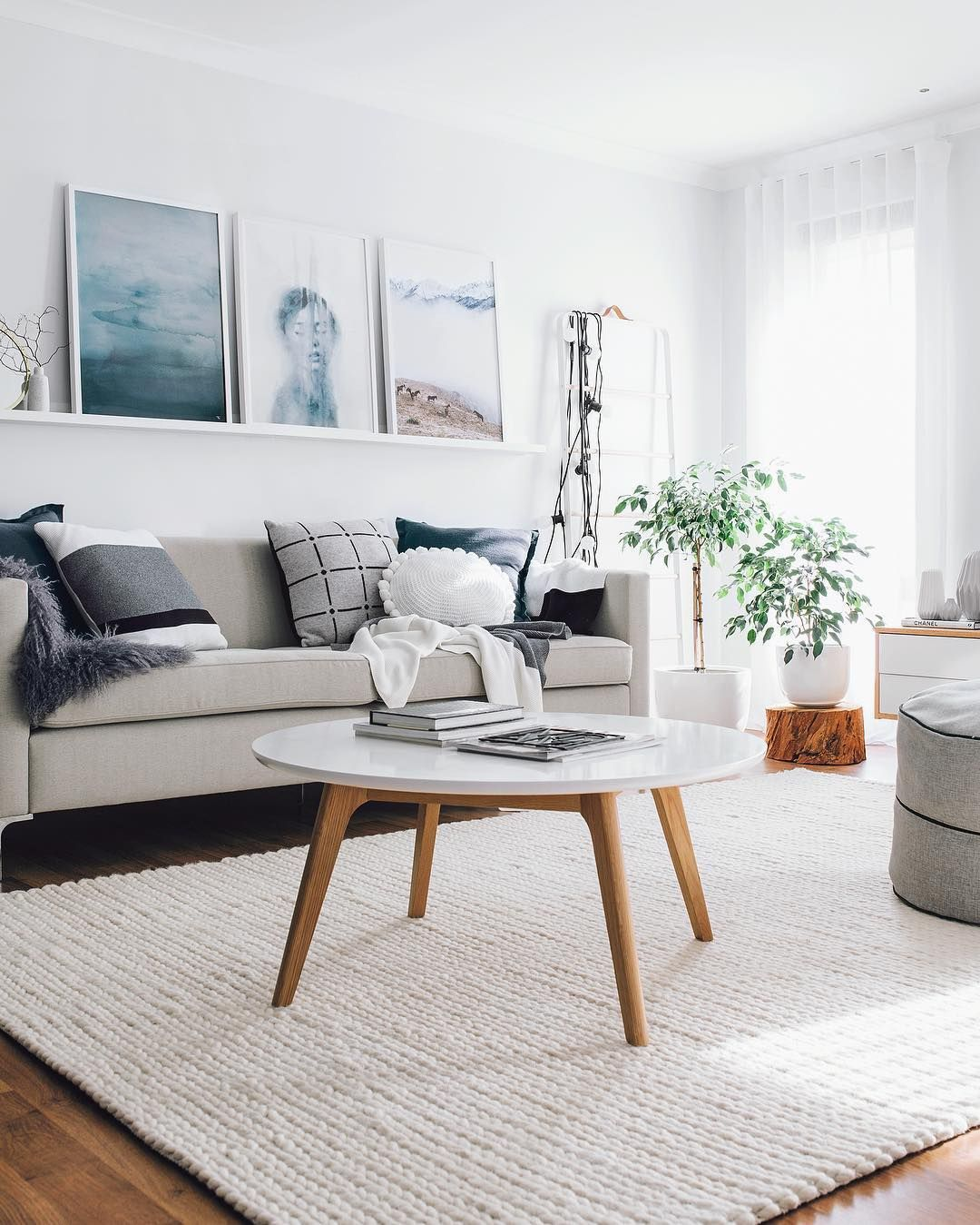 12 Scandinavian Rugs For The Perfect Nordic Look Living Room Scandinavian Scandi Living Room Living Room Decor