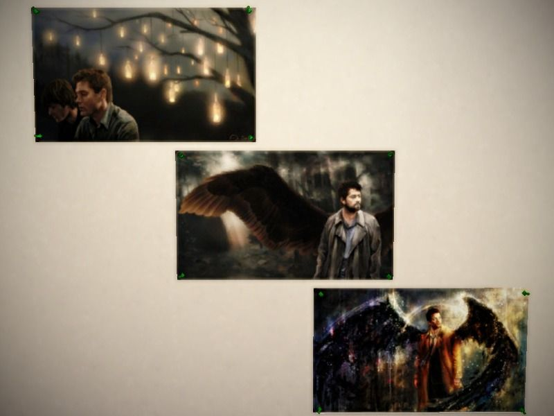 Just some Posters :) #JoinTheHunt. You need Kids Stuff Found in TSR Category 'Sims 4 Painting and Poster Recolors'