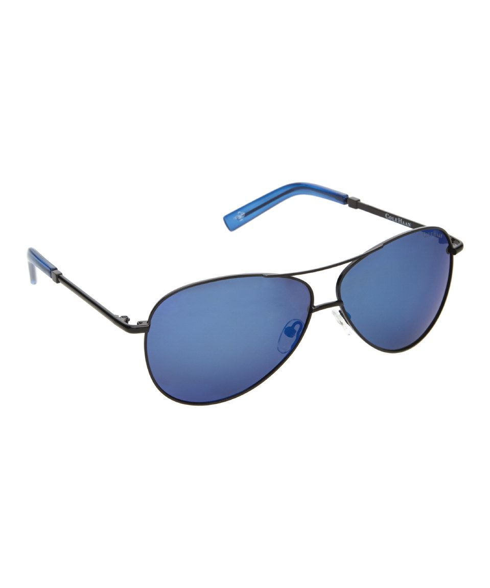 Loving this Cole Haan Blue Aviator Sunglasses on #zulily ...