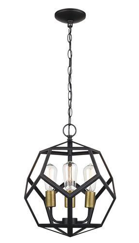 Patriot Lighting Suzanna 3 Light Rubbed Oil Bronze Pendant Light At Menards ®u2026