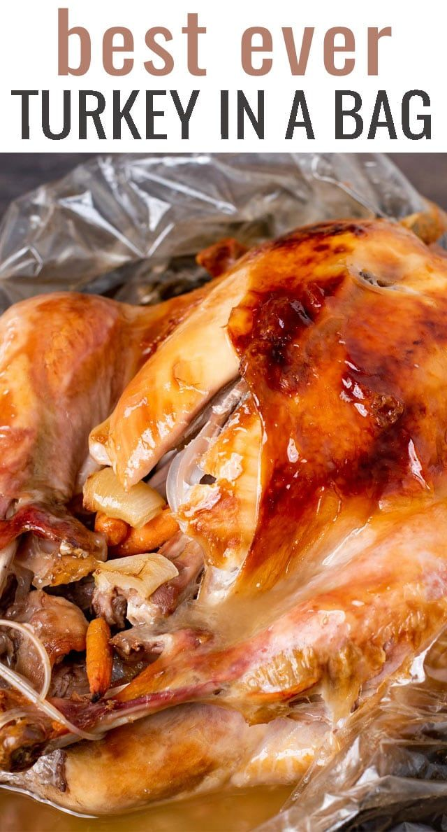 Cooking Turkey in a Bag {Tips for Best Roasted Tur