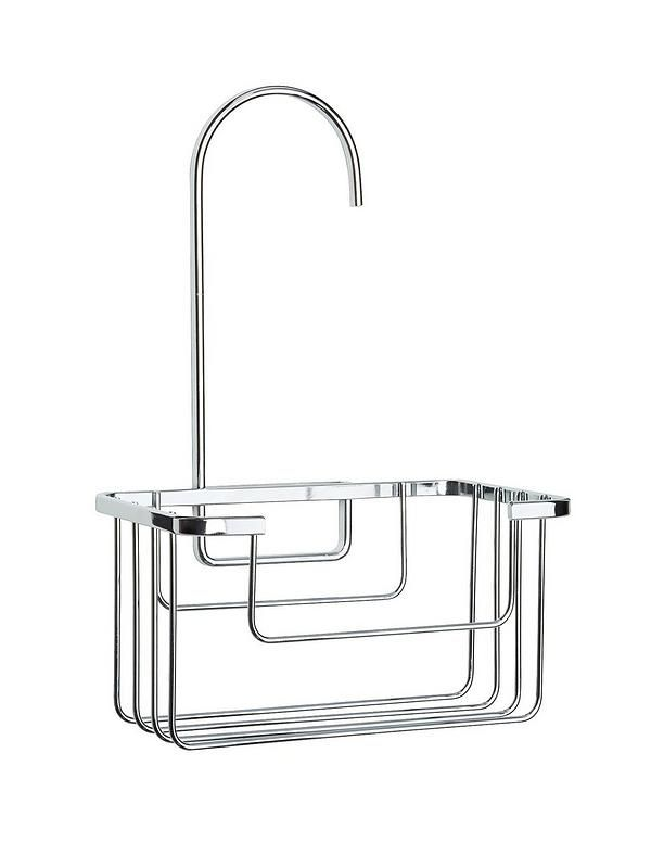 Croydex Shower Riser Rail Hook Over Caddy - - | Bathroom ...
