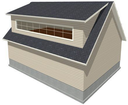 Drawing A Shed Dormer Manually Chief Architect Help Database Shed Dormer Attic Renovation Dormers