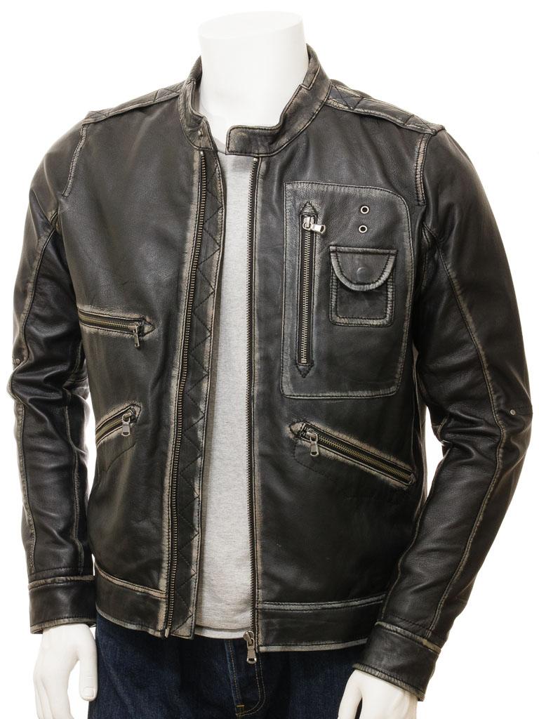 Qastan New Men S Black Sheep Leather Jacket Qmj84 Qastanwears Online Store Powered By Storenvy Leather Jacket Men Leather Jacket Men S Leather Jacket [ 1024 x 768 Pixel ]