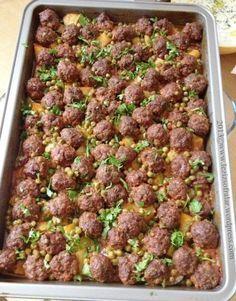 FIRINDA SEBZELI MISKET KÖFTE #طعام