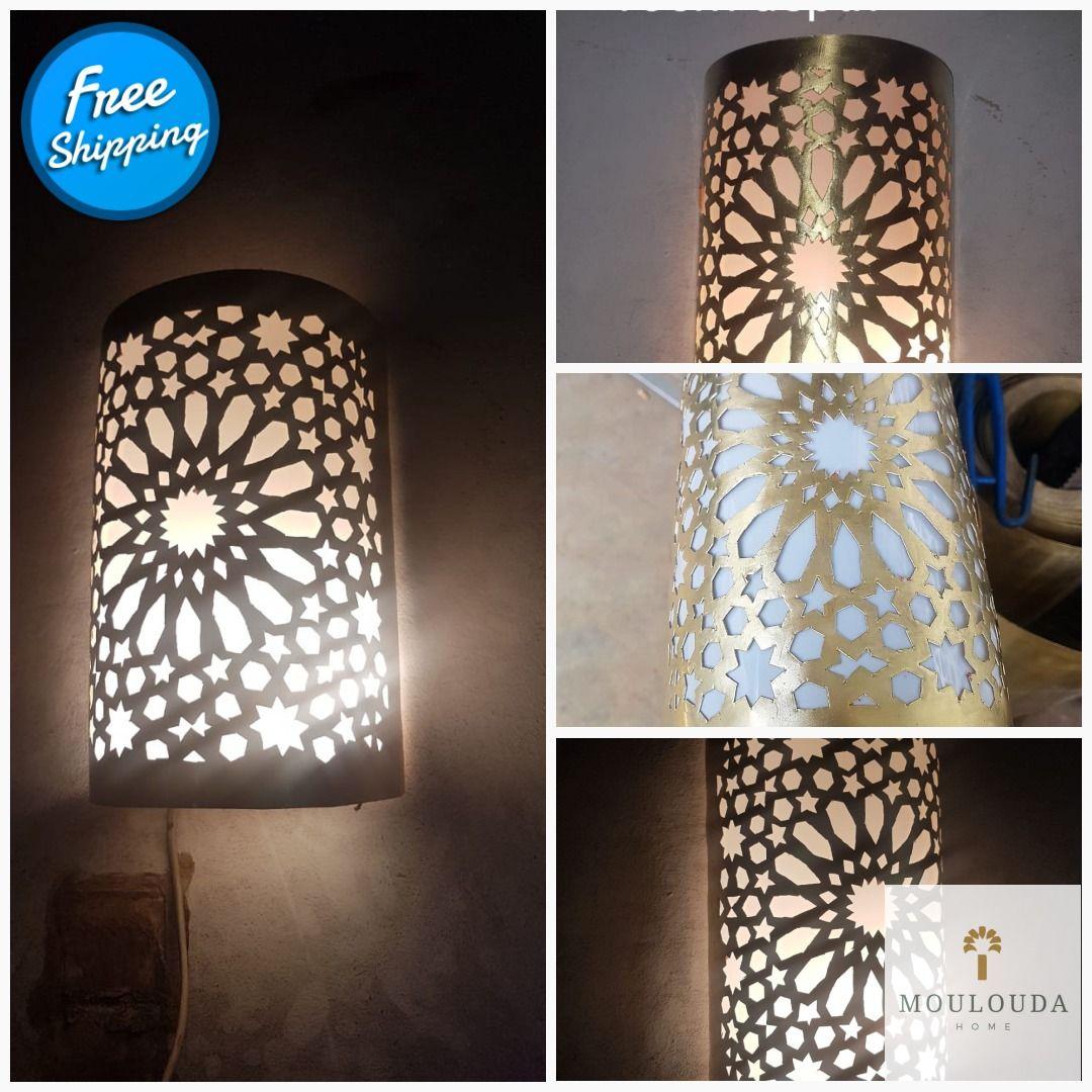 Wall Light Moroccan Wall Lamp Wall Sconce Designer Lamp Etsy Art Deco Decor Wall Lights Wall Lamp