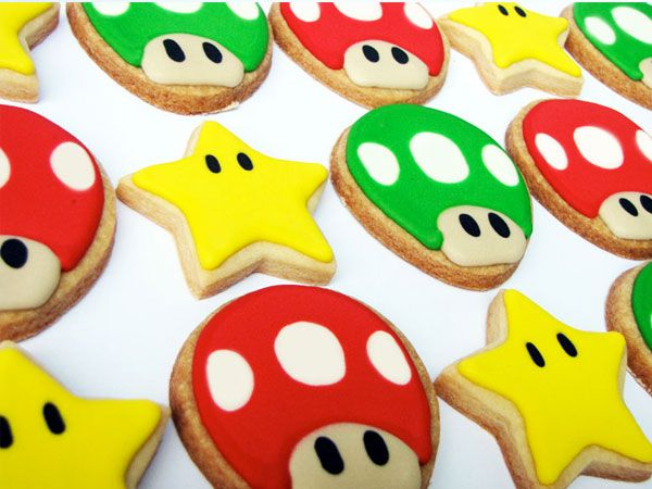 biscoito decorado - petit four