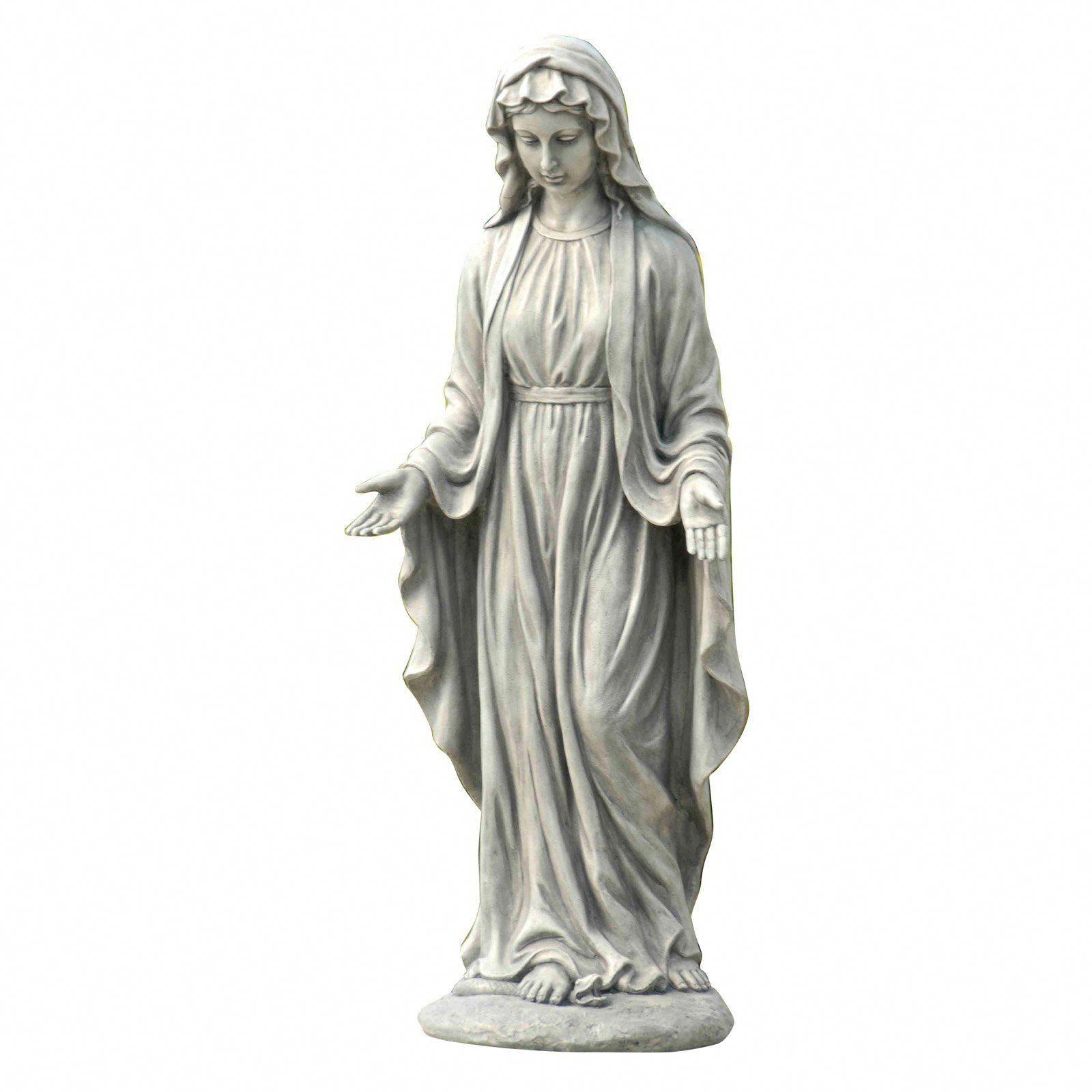 Winsome House Mary Statue In 2020 Mary Statue Statue Virgin