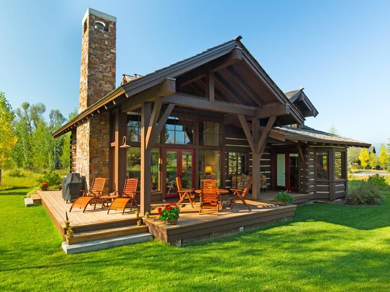 Jackson Hole Wyoming Real Estate Listings Mercedes Huff Associates Barn Style House House In The Woods Cabin