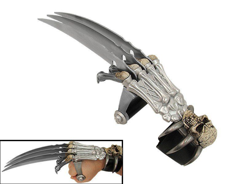 Skullcrusher Hand Claw Unique Knives Cool Swords Sword