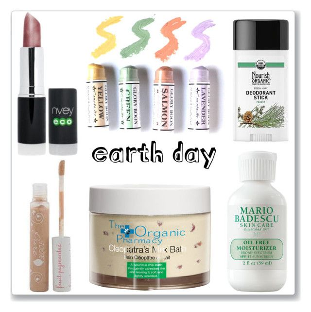 """""""Organic Beauty"""" by ludmyla-stoyan ❤ liked on Polyvore featuring beauty, Nvey Eco, Mario Badescu Skin Care, Nourish Organic, The Organic Pharmacy, natural, organic and earthday"""