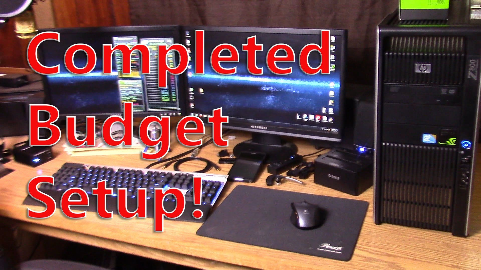 Budget PC with a not so budget graphics card HP Z800 and Nvidia