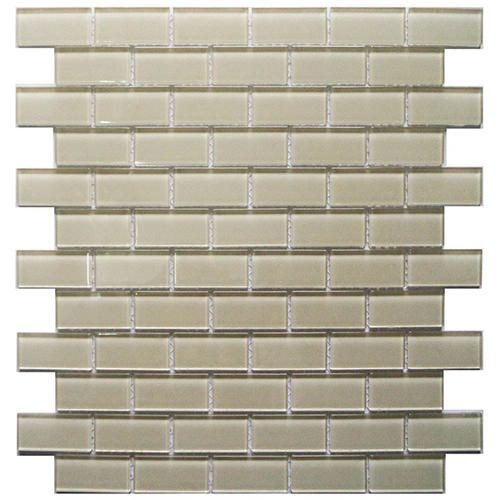 Bestview Glass Mosaic Tile 1 X 2 At Menards Mosaic Glass Glass Mosaic Tiles Mosaic Tiles
