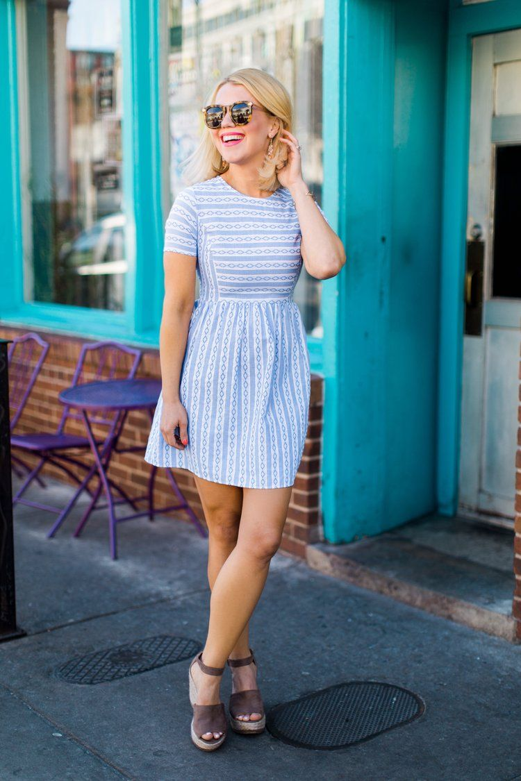 Striped dress edit by lauren fashionista pinterest clothes
