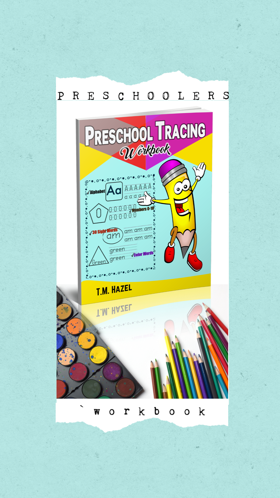 Amazing Practice For Preschoolers Great Workbook For