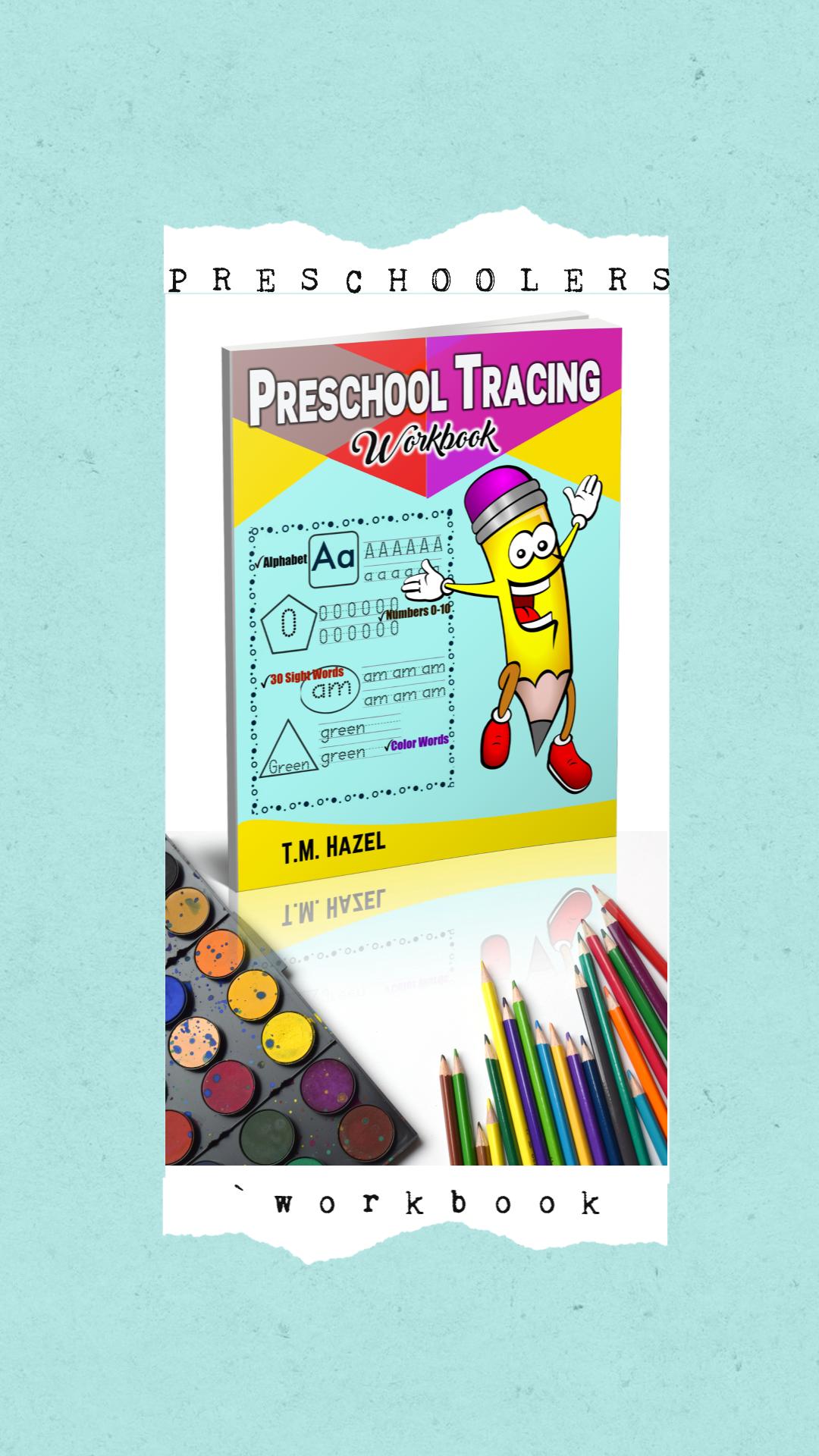 Amazing Practice For Preschoolers Great Workbook For