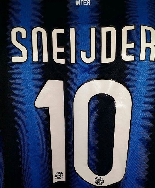 sneakers for cheap fcab5 e06f9 NIKE Inter Milan Wesley Sneijder 2009/2010 Soccer Jersey ...
