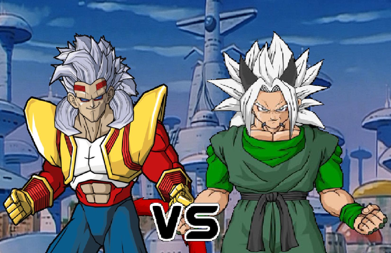 Ssj4 Baby Vegeta vs Xicor   Dragon Ball Fighter ...