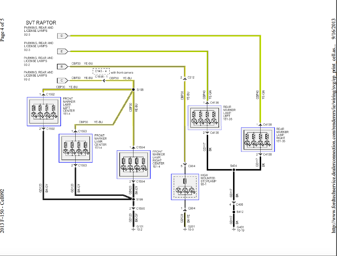 Ford F250 Wiring Diagram For Trailer Light Bookingritzcarlton Info Trailer Light Wiring Truck And Trailer Ford Truck