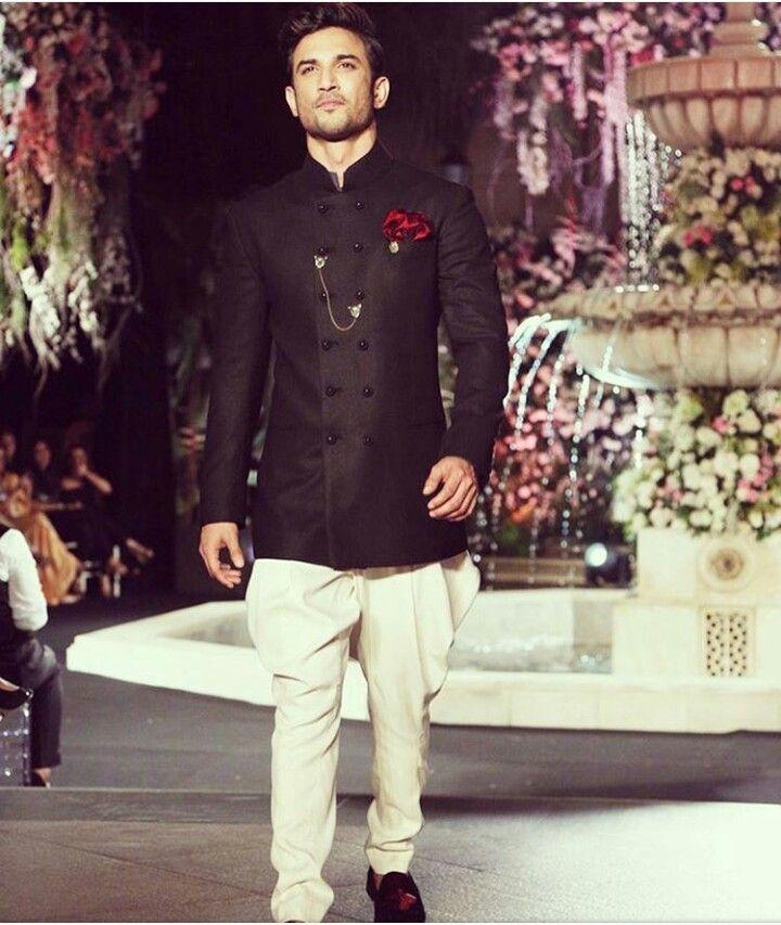 47d58e757d Sushant Singh Rajput in Manish Malhotra. Sushant Singh Rajput in Manish  Malhotra Wedding Dresses Men Indian ...