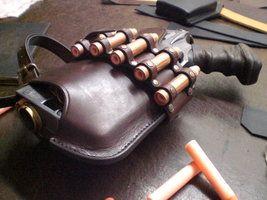 Nerf Holster Prototyp-2.3 by ~Leder-Joe on deviantART