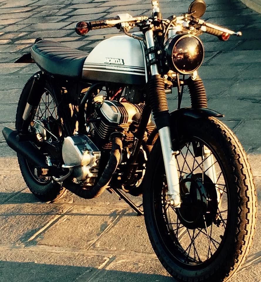 honda cm125 by dauphine lamarck motorcycles cafe bike. Black Bedroom Furniture Sets. Home Design Ideas