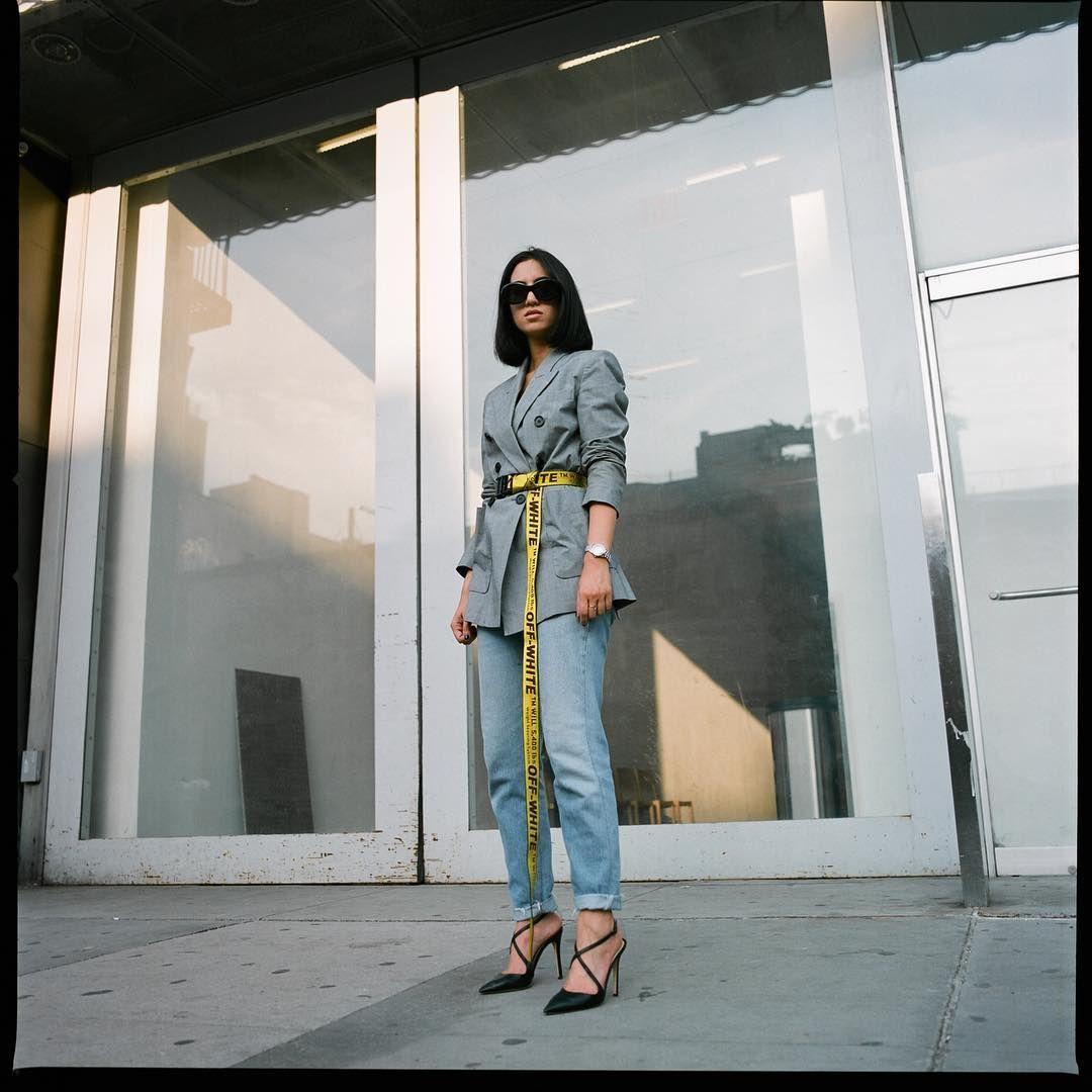 3 117 Likes 68 Comments Tania Sarin Tania Sarin On Instagram The Belt Of The Season Via Netapo Fashion Off White Fashion Street Style Trends