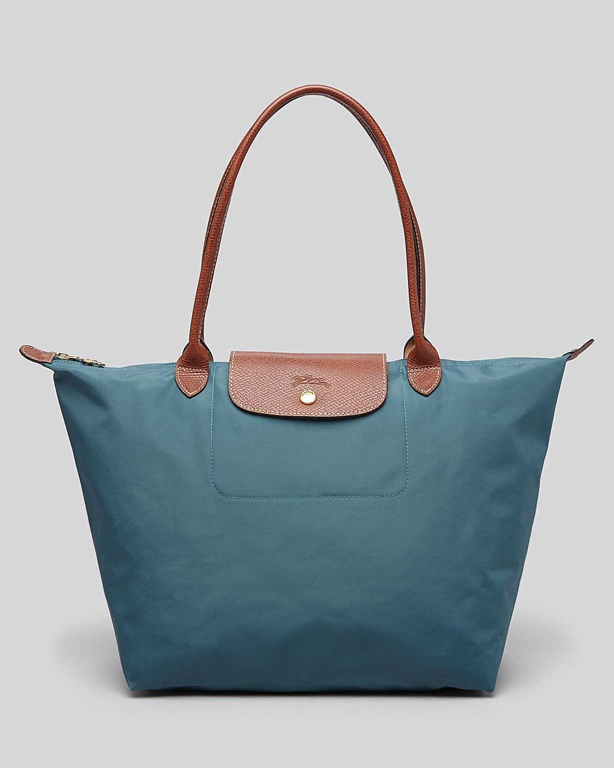 bce6c2b7ed Longchamp Tote - Le Pliage Large Shoulder | Bloomingdale's $145 in Mint  color. 9