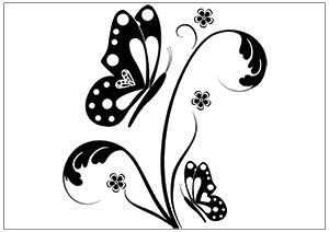 Printable Fun Butterfly Coloring Pages For Kids Butterfly Coloring Page Butterfly Drawing Butterflies Vector