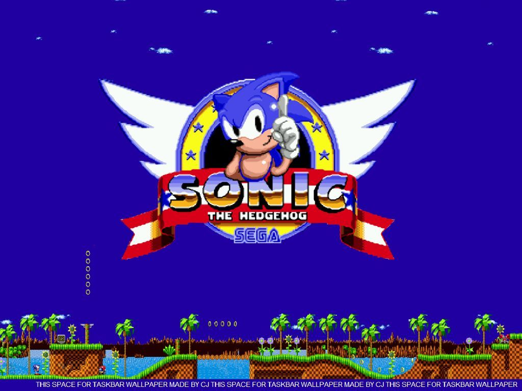 Sega Classic Sonic Sonic The Hedgehog Hedgehog
