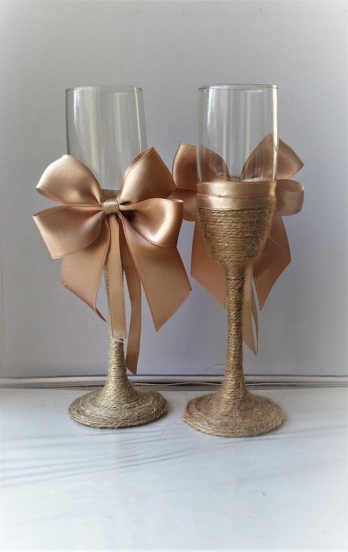 36+ Wedding toasting flutes gold ideas