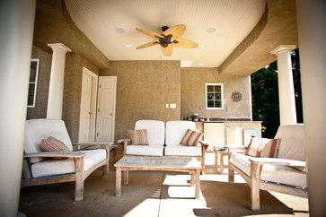 Aptly suited mixed use - traditional - patio ...