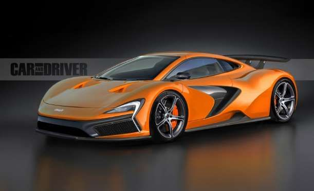 2016 McLaren P14 Supercar - Provided by Car and Driver