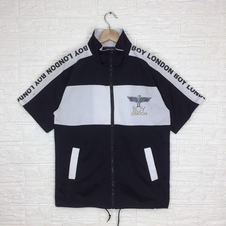 Vintage Boy London Zipper T Shirt L Size Etsy In 2020 Vintage Boys Boy London Shirts