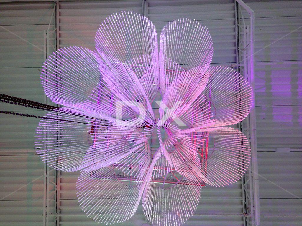 Custom chandelier by DX Design