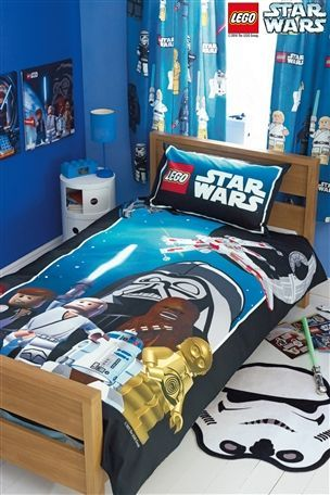 Lego Star Wars Bed Set From Next Hunter Would Love This Star Wars Kids Room Star Wars Room Big Boy Bedrooms