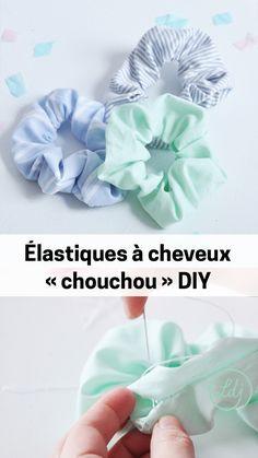 """Élastiques à cheveux """"chouchou"""" – Chouchou – Look du jour   – Nähen – Accessoires"""