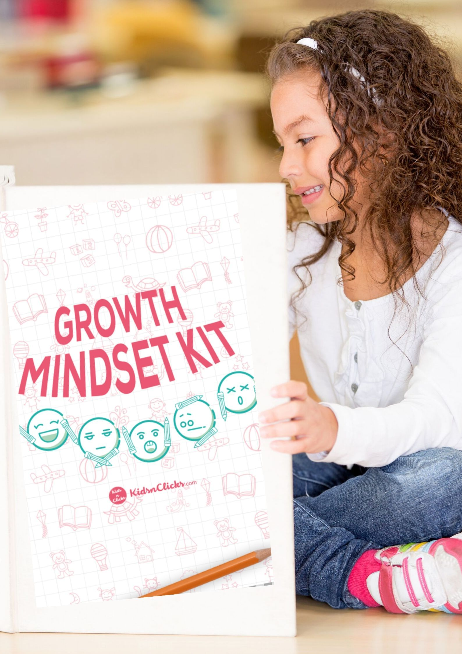 Growth Mindset Printables Kit 5 12 Years Old