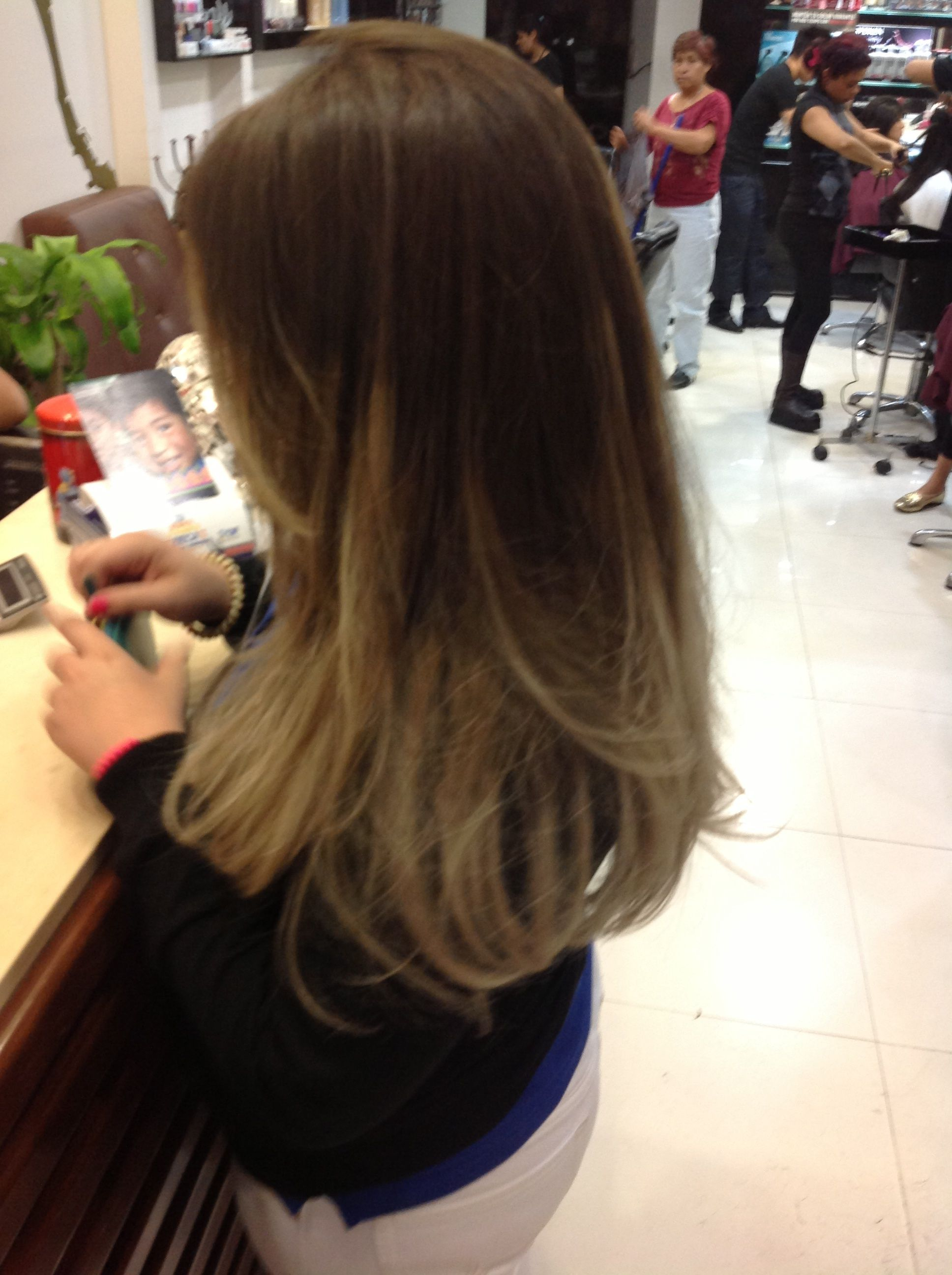 Ombre highlights dirty blond i own the night pinterest ombre