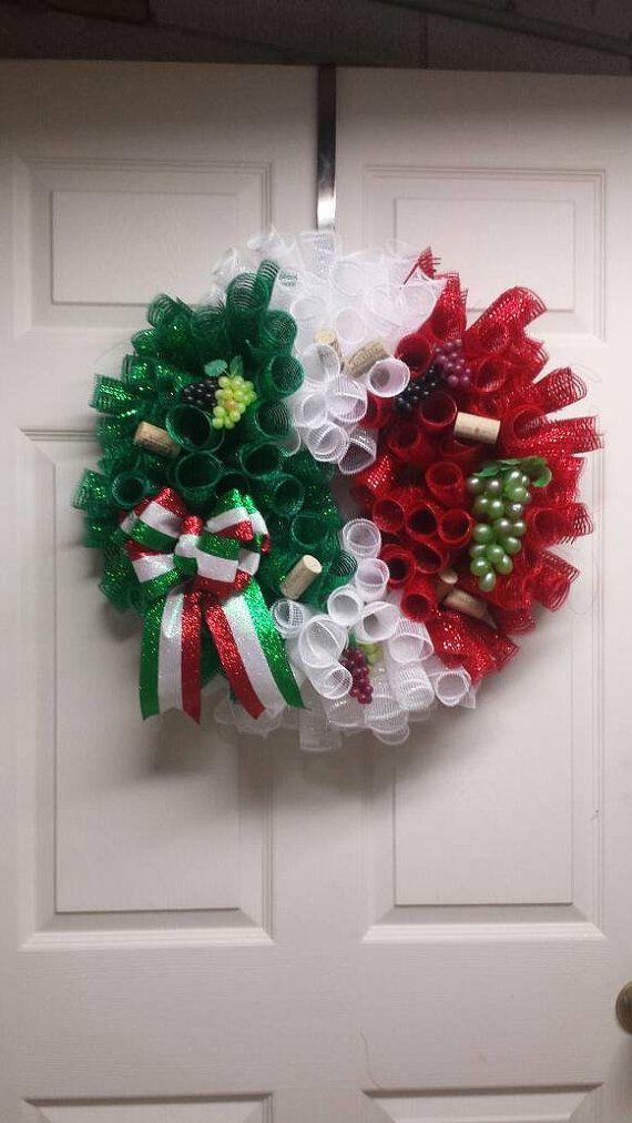 Italian Flag Wreath Italian Wreath Italy Flag