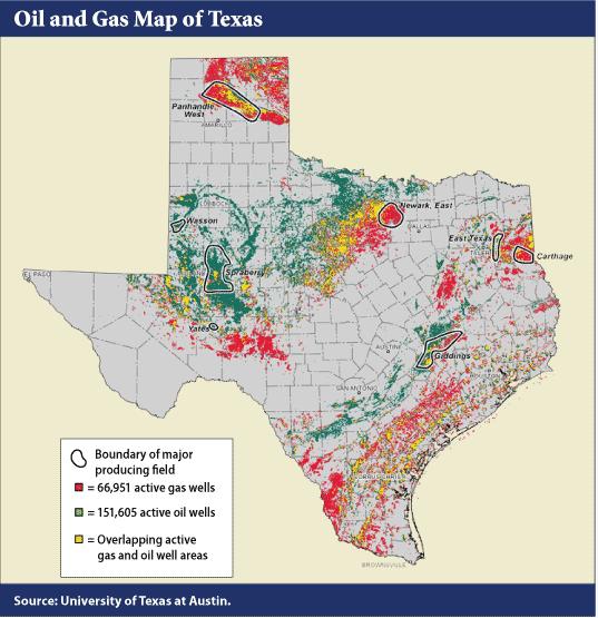 Texas Gulf Oil Rig Map Texas Oil Fields Map TEXAS TEA - Show a map of texas