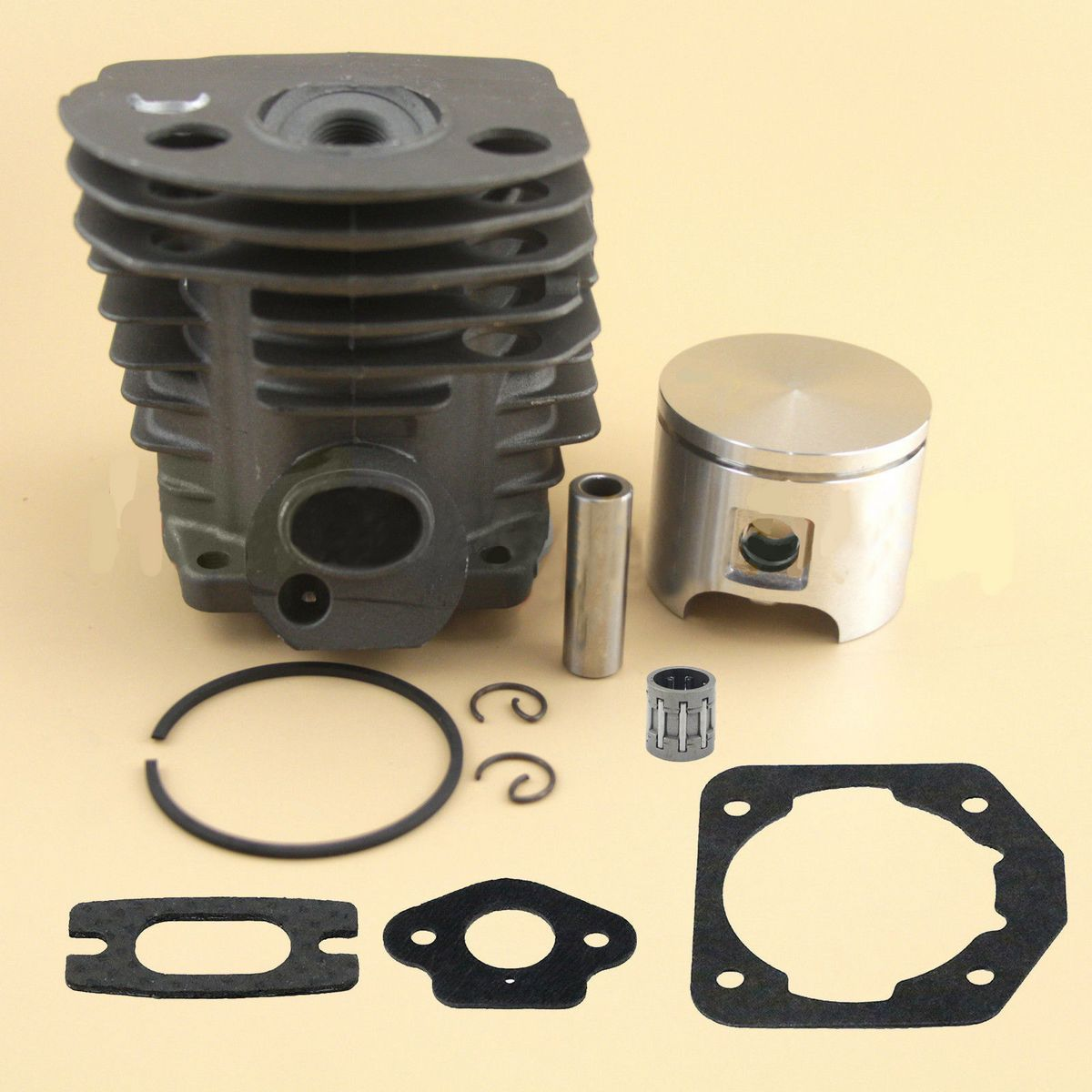New 46mm Mayitr Cylinder Piston Gasket Bearing For Chainsaw
