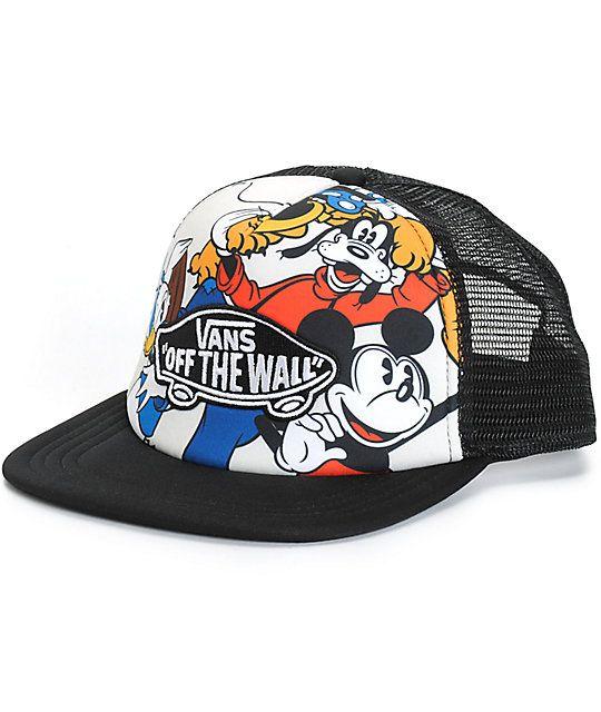 63dc2594f9e Disney x Vans Mickey   Friends Trucker Hat