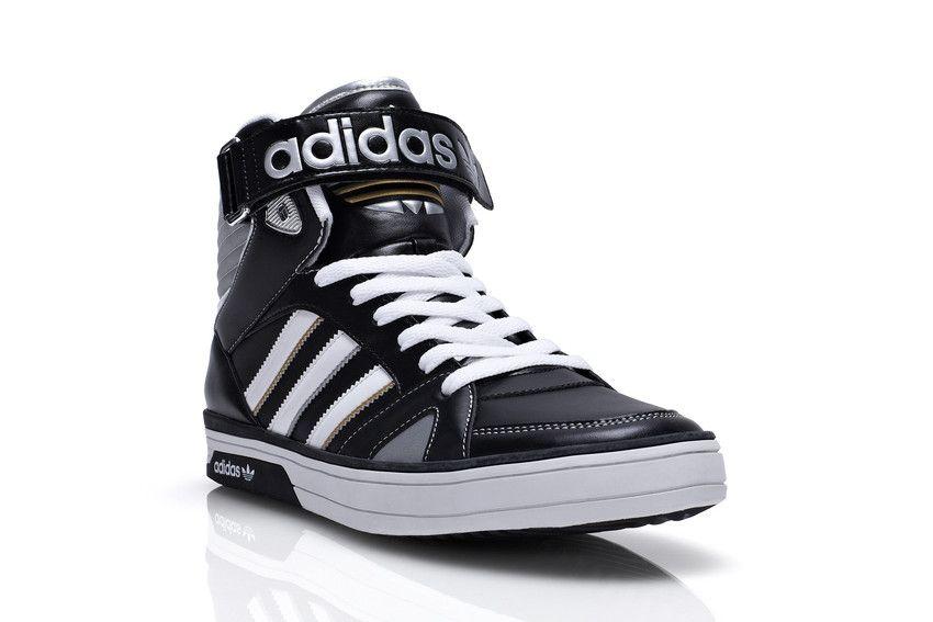 ADIDAS SPACE DIVER High Schuhe Sneaker, schwarz gelb