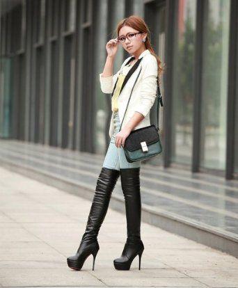 Asian Fashion Boots