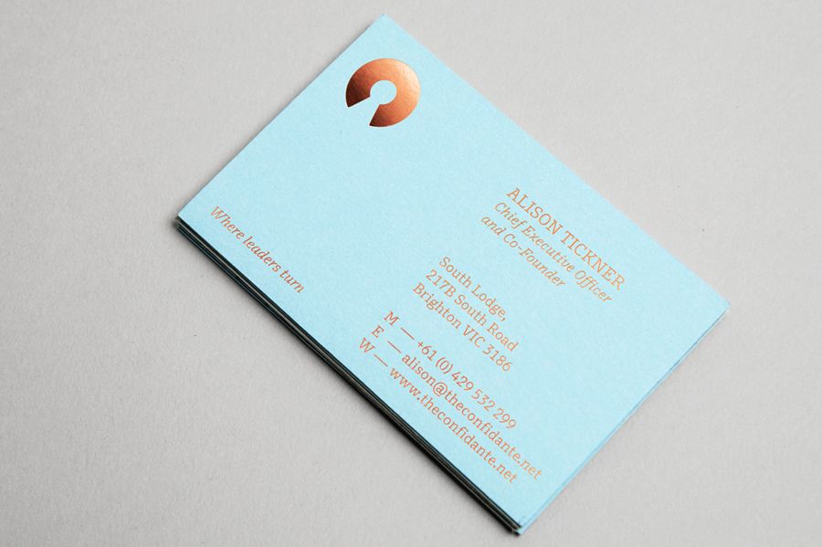 New Brand Identity for The Confidante by RE: - BP&O | Business ...