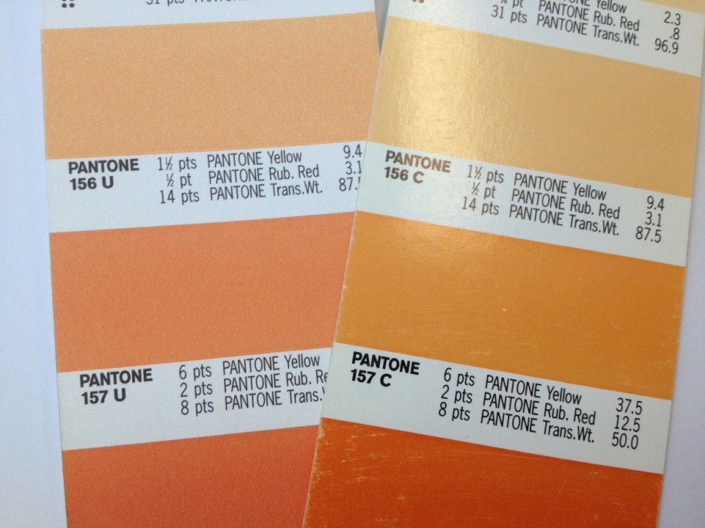 uncoated vs coated pantone colour cards 717 c 2019